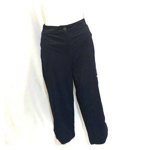 Chicos Zenergy cropped blue workout pants SZ 2
